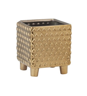 Square Footed Planter Large