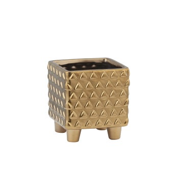 Square Footed Planter Small