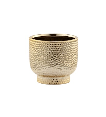 Gold Dimple Pedestal Cache Small