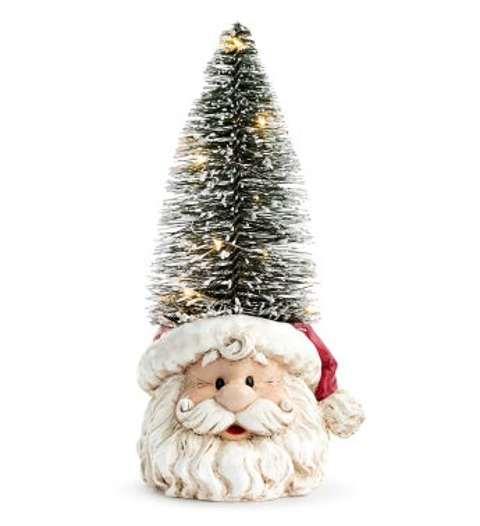 LED Santa with Tree Hat