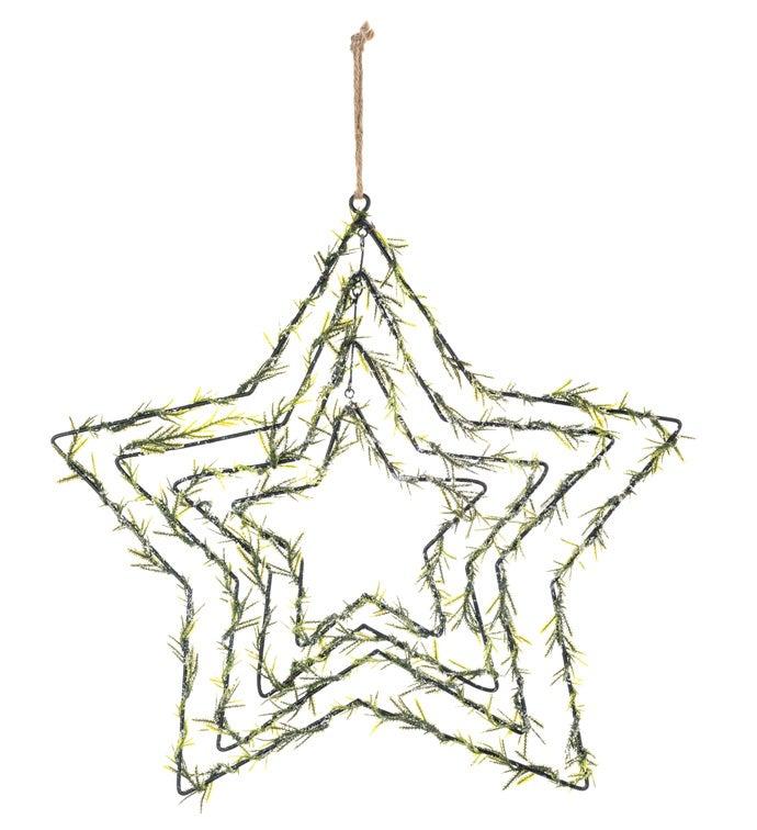 Ming Pine Multi Star Ornament