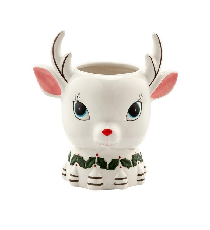 Reindeer Head Planter