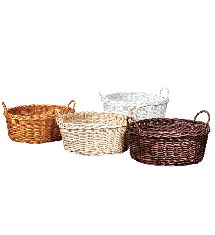 Pot Willow Trays, 4 Assorted