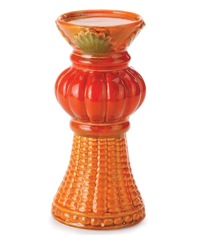 Small Pumpkin Candleholder