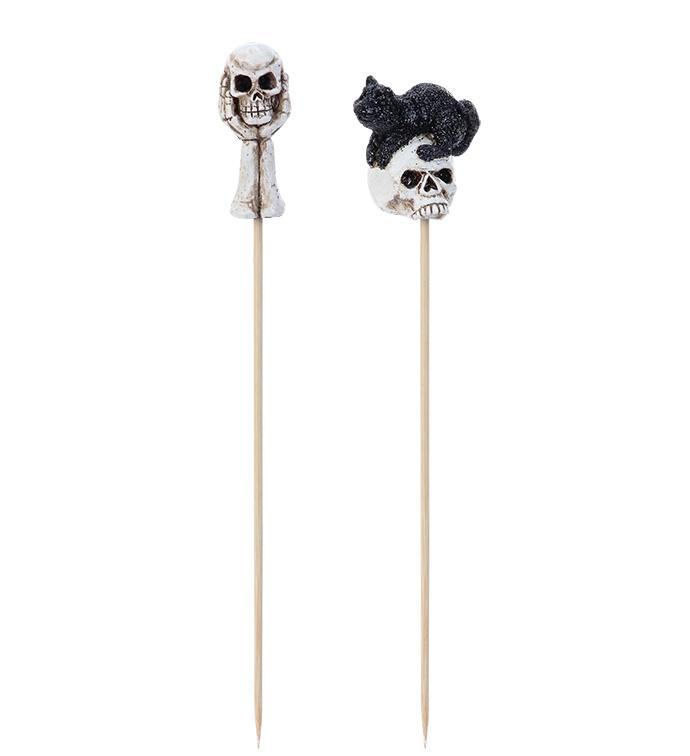 Skull Pick, 2 Assorted