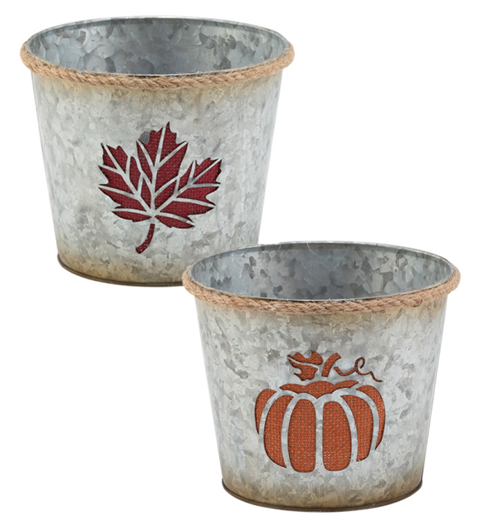 "6.5"" Cut Out Planter, 2 Assorted"