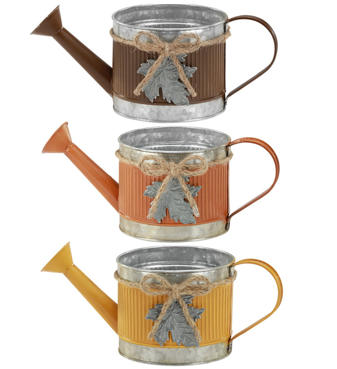 Leaf Watering Can, 3 Assorted