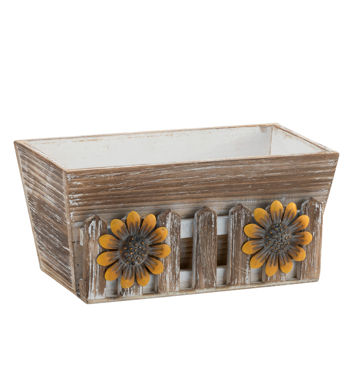 Sunflower Planter Box