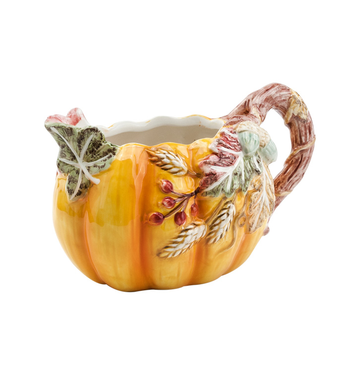 Pumpkin Spice Pitcher/Planter