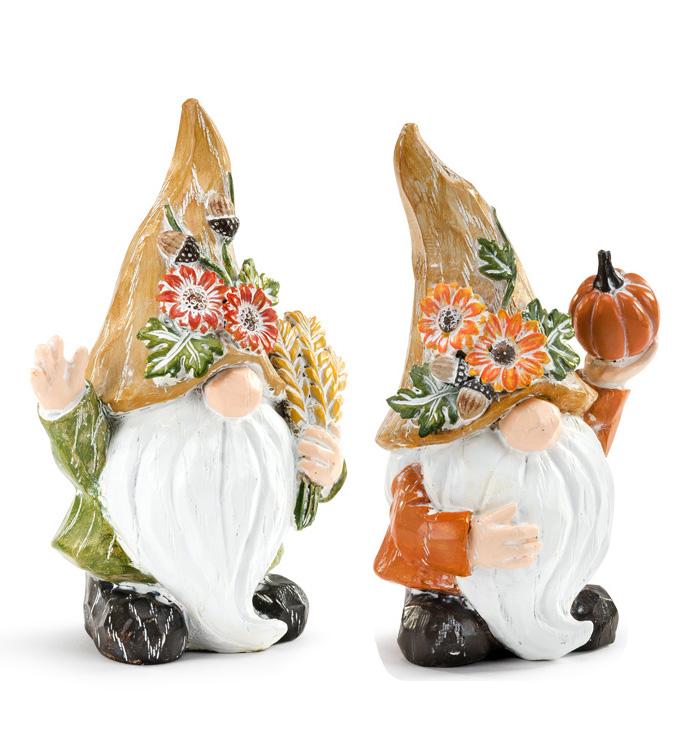 Autumn Gnome, 2 Assorted