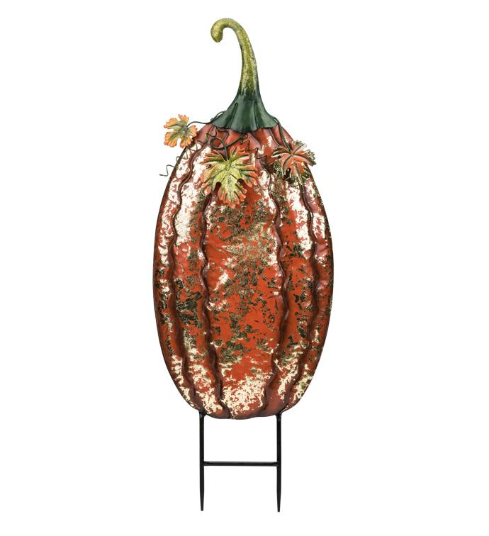 Pumpkin Spice Garden Stake