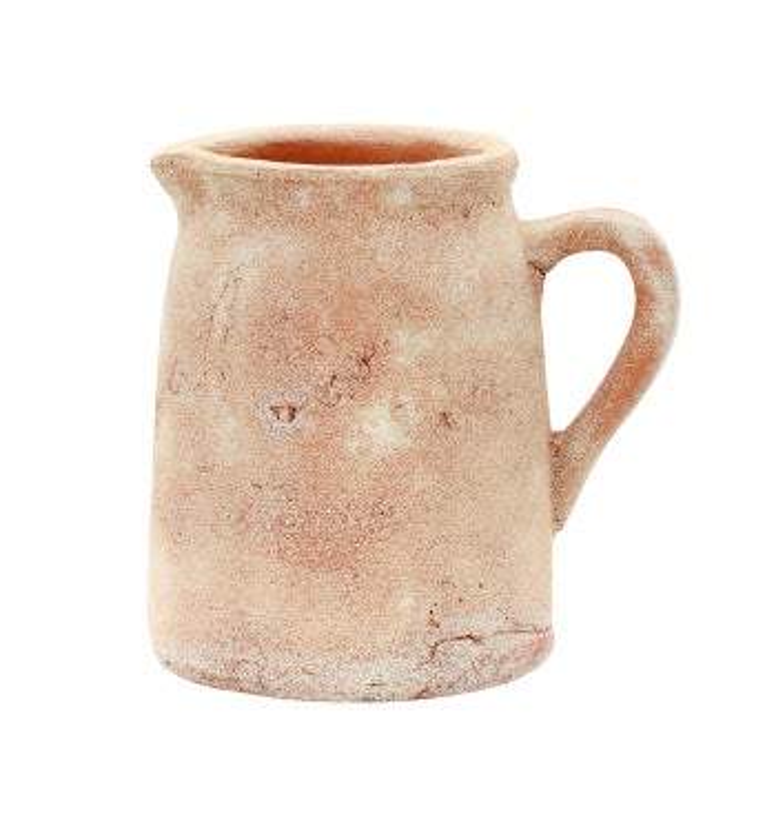 Large Rustic Pitcher Vase