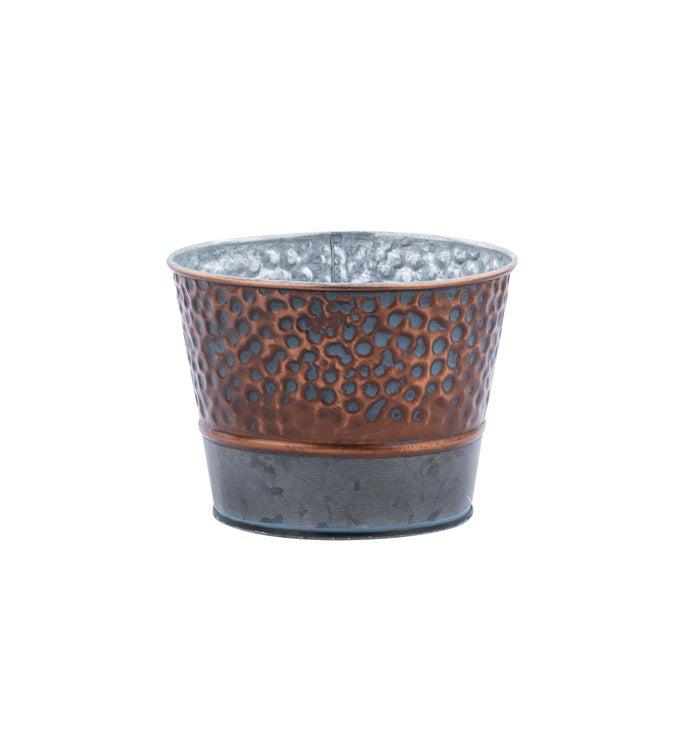"""5"""" Aged Copper Pot Cover"""