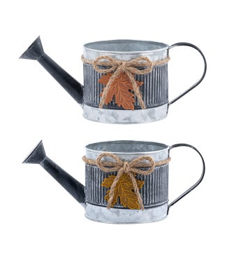 Leaf Watering Can, 2 Assorted