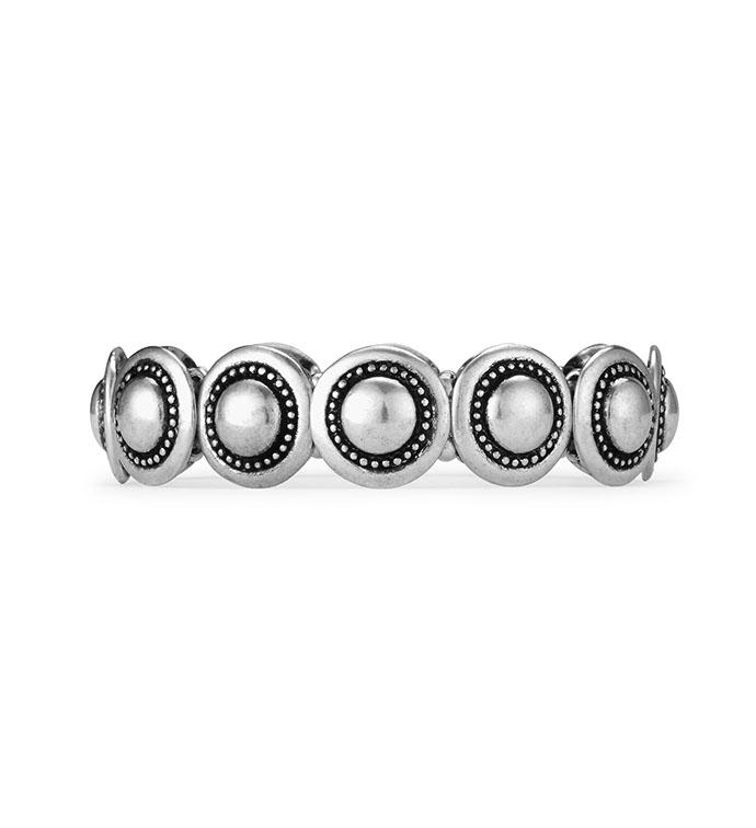 Silver Petite Stretch Bracelet