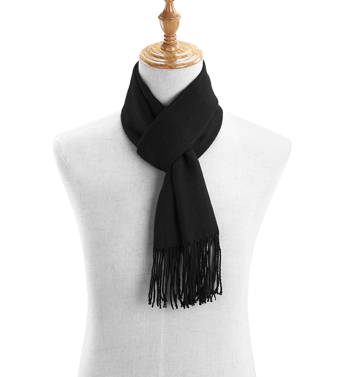 Driving Scarf Black