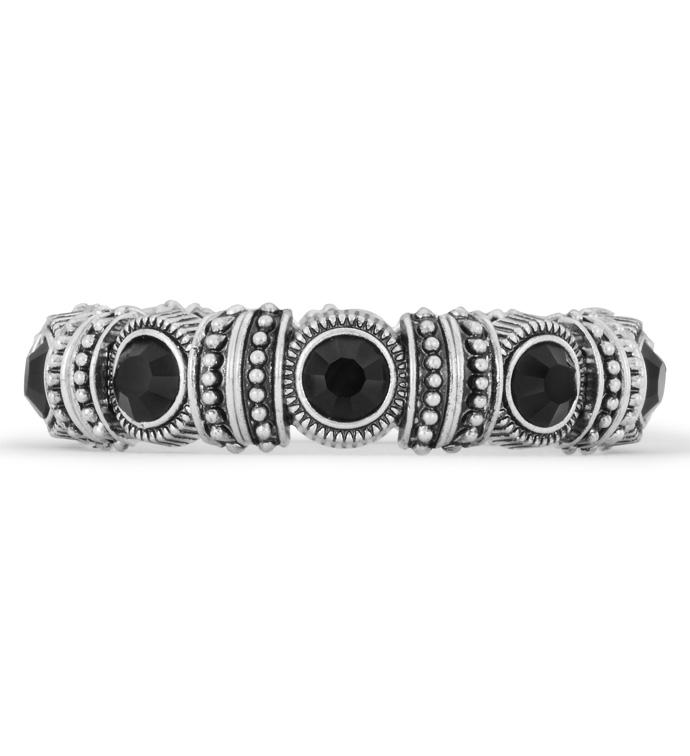 Silver Stretch Bracelet