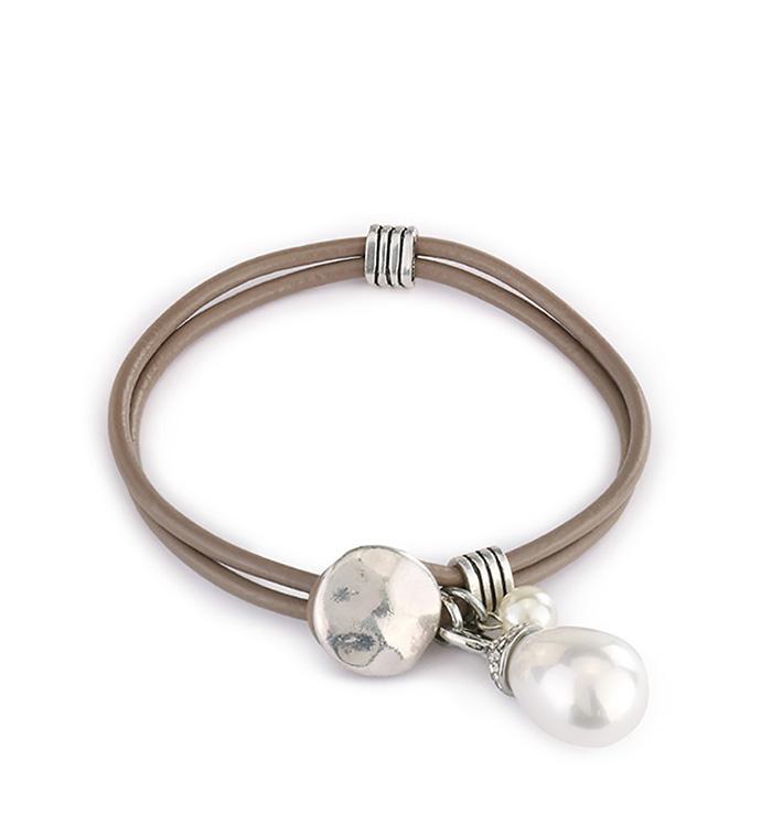 Pearl Lariat Bracelet