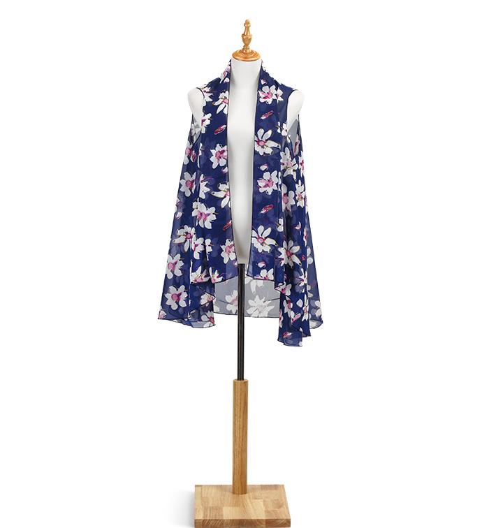 Blue Magnolia Vest