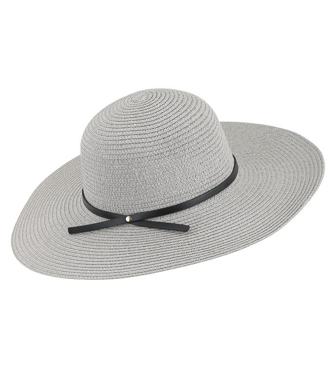 Grey Floppy Hat