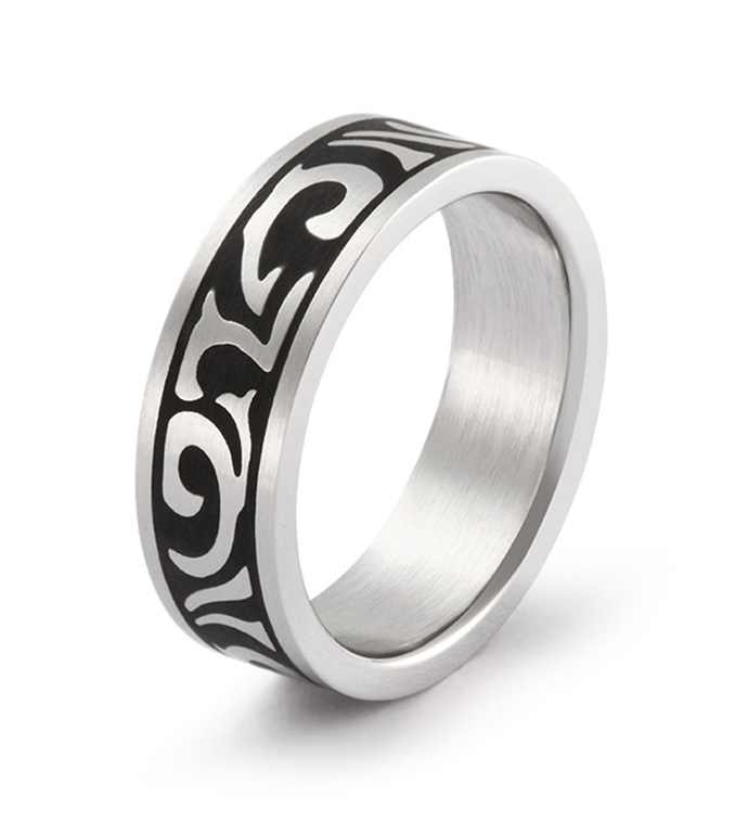 Tribal Narrow Ring