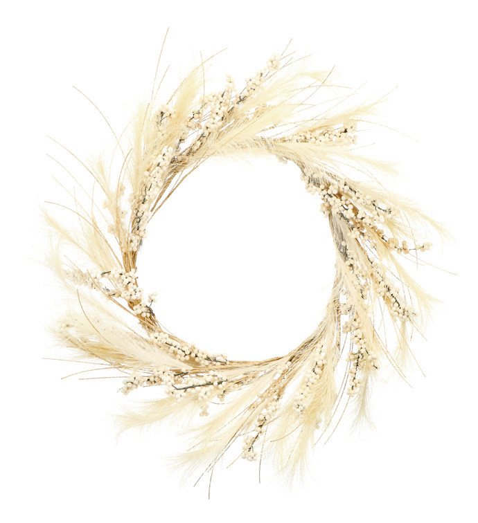 Harvest Wheat Berry Wreath