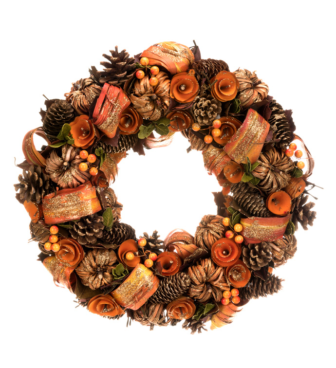 Pumpkin Spice Wreath