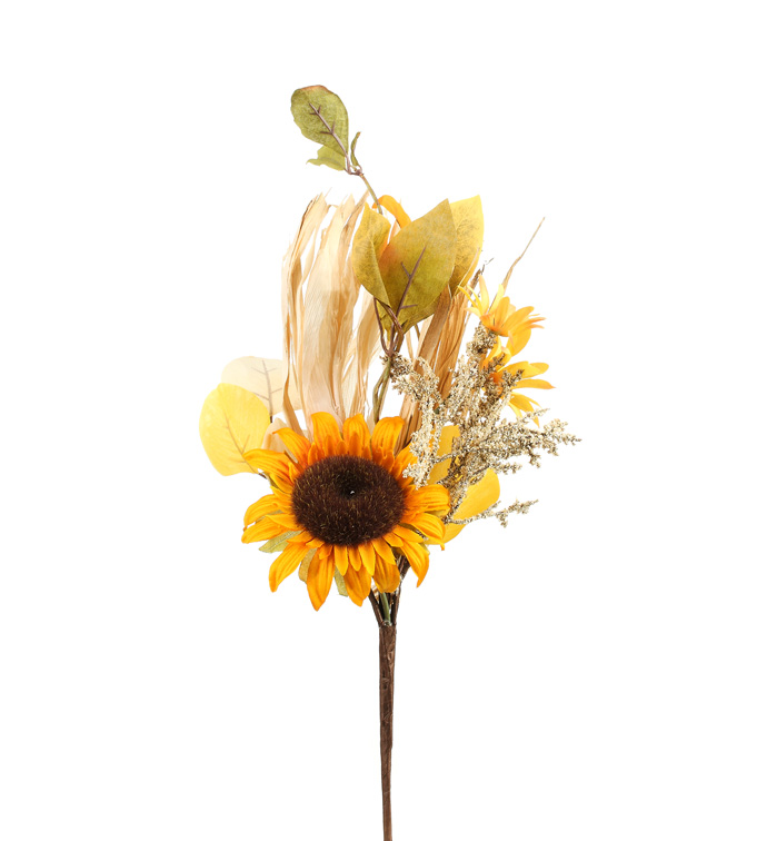 Dried Sunflower Pick