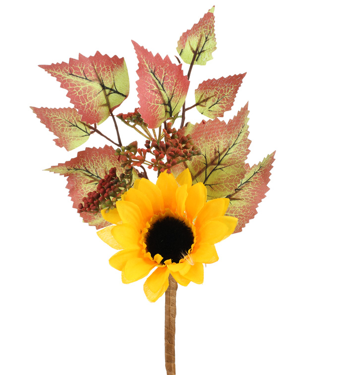 "10"" Sunflower Berry Pick"
