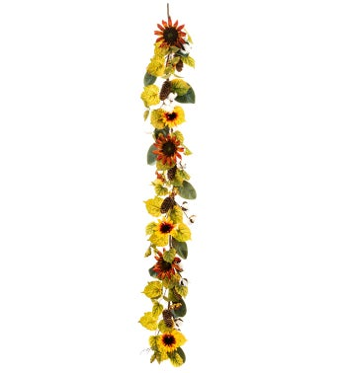 Sunflower/Cotton Garland