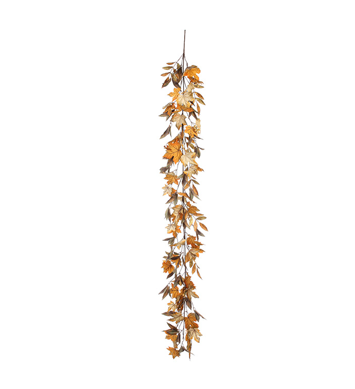 Assorted Leaf Berry Garland