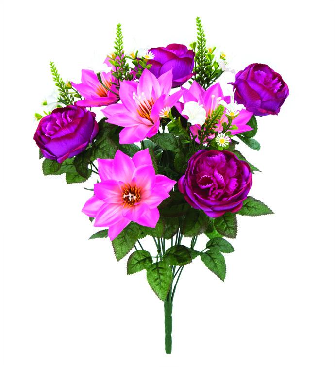 Peony/Lotus Bush Fuschia/Pink