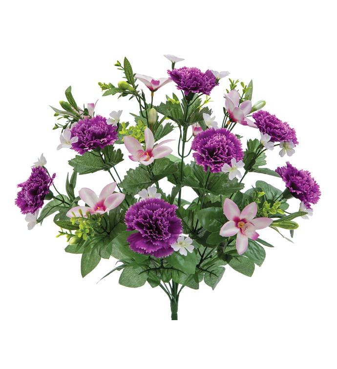 Purple Carnation/Orchid Bush