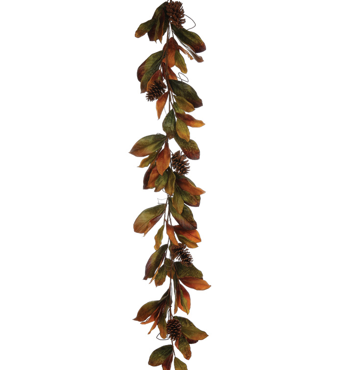 Magnolia Leaves Garland