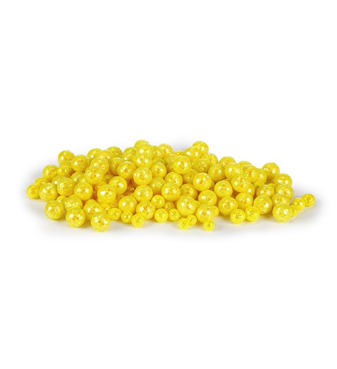 Yellow Glitter Gems