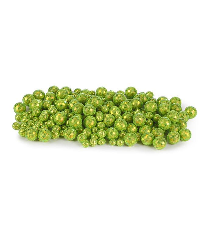 Green Glitter Gems