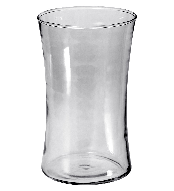 "6"" Clear Gathering Vase"